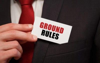 sales & marketing meeting rules