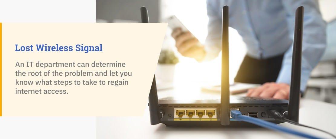 Lost Wireless Signal